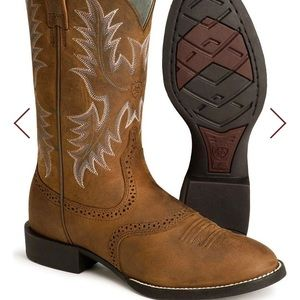 "Ariat heritage stockman 11"" boots"